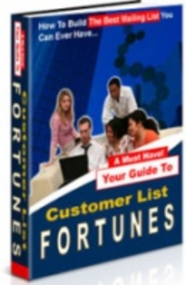 Product picture Customer List Fortunes - Business